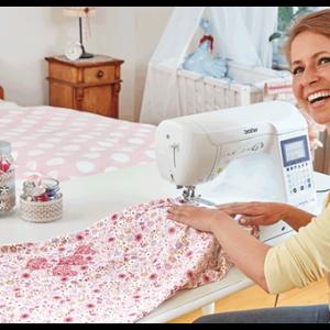 Nähmaschinen - Für geübte Hobby-Schneiderinnen